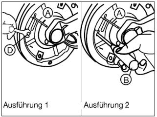 BPW Bremse -7 Ausführungen