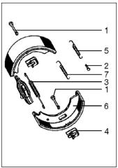 BPW Bremse -7 Explosionszeichnung